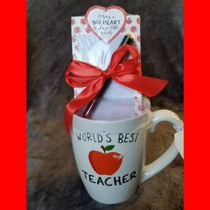 World's Best Teacher Mug Gift Set